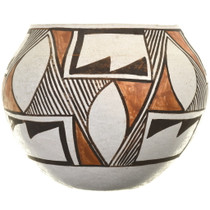 Traditional Acoma Tribe Olla Pottery 33926