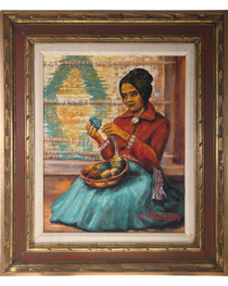 Navajo Woman Portrait 33933