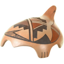 Small Stylized Turtle Hopi Pottery 33942