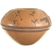 Native American Symbols Kokopelli Pottery 33943