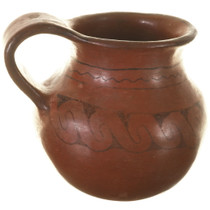 Native American Pottery Pitcher 33945