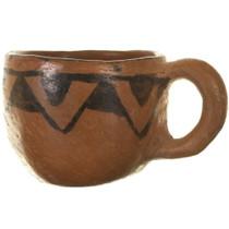 Hand Built Pueblo Pottery Cup 33946
