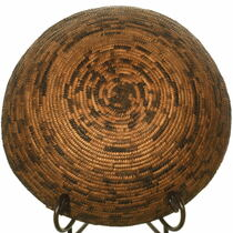 Authentic Pima Tribe Basket Weaving 33952