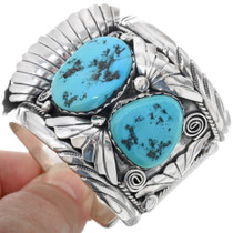 Large Sleeping Beauty Turquoise Watch Cuff 33963