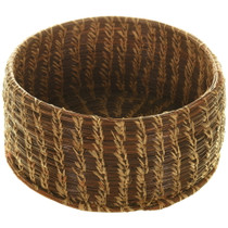 Vintage Native American Pine Needle Basket 33978