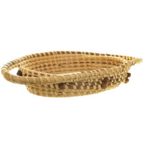 Louise Smalls Basket Weaving