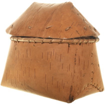 Native American Cree Tribe Birch Basket 33985
