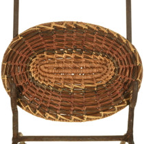 Louisiana Tribe Native American Basket Tray 33991