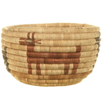 Native American Hopi Tribe Basket Weaving 34004