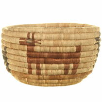 Native American Hopi Tribe Basket Weaving 34004