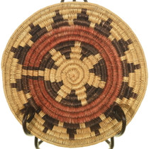 Vintage Navajo Wedding Basket 34005