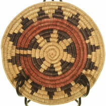 Vintage Navajo Wedding Basket 34005