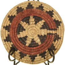 Traditional Hand Woven Native American Wedding Basket 34005