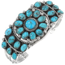 Natural Turquoise Bracelet 34009
