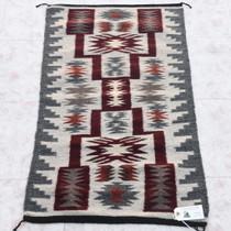 Vintage Navajo Storm Pattern Rug 34010