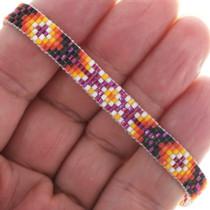 Navajo Pattern Beaded Tennis Bracelet 34022