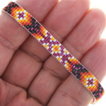 Navajo Pattern Beaded Tennis Bracelet 34022