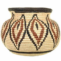 Native American Hand Woven Bowl Basket 34029
