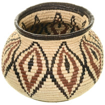 Vintage Wounaan Indian Basket 34029