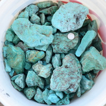 Blue Green Turquoise Rough 33440