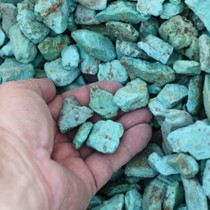 Blue Green Turquoise Rough 33441
