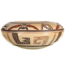Hopi Sikyatki Moth Pattern Pottery 34035