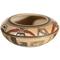 Small Vintage Hopi Pottery Bowl 34035