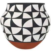 Acoma Pottery Black White Patterns 34037
