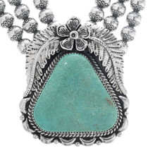 Turquoise Sterling Necklace 29450