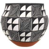 Vintage Acoma Polychrome Pottery 34045
