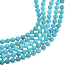 Round Tibetan Turquoise Beads 33442