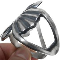 Sterling Silver Southwestern Cuff Bracelet 34086