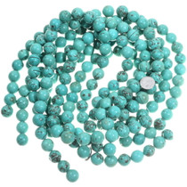 Chunky Round Turquoise Beads 33443