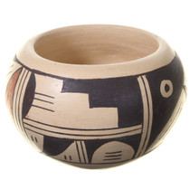 Hopi Polychrome Pottery Small Bowl