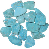 Backed Sonoran Turquoise Freeform Cabochons 33449