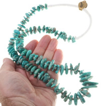 Green Turquoise Bead Necklace 34111