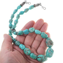 Nevada Turquoise Bead Necklace 34112