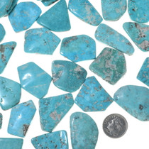 Bright Sky Blue Turquoise Cabochons 33453