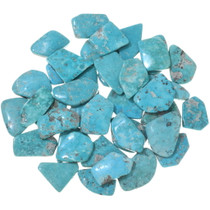 Freeform Sonoran Turquoise Backed Cabochons 33453