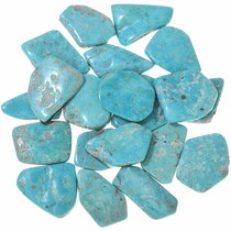 Hand Cut Freeform Sonoran Turquoise Cabochons 33454