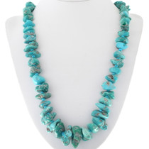 Turquoise Nugget Bead Necklace 34113