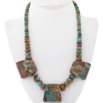 Navajo Evans Turquoise Necklace 34114