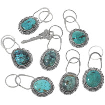 Real Turquoise Key Chain 34117