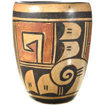 Small Hand Painted Hopi Polychrome Pottery 34119