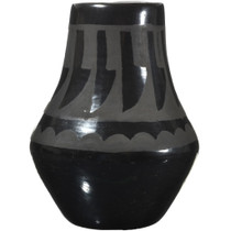 Small Native American Blackware Jar 34120