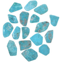 Large Sonoran Turquoise Cabs Backed 33455