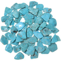 Natural Turquoise Cabochons Freeform Backed 33457