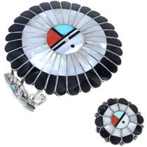 Old Pawn Zuni Sunface Bracelet 34125