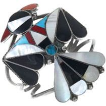 Large Zuni Thunderbird Inlay Bracelet 34134