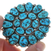 Sleeping Beauty Turquoise Brooch 34135
